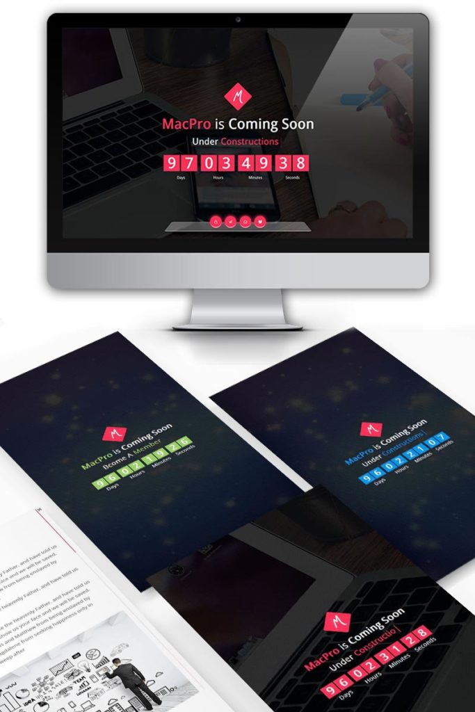 best coming soon template for under construction website