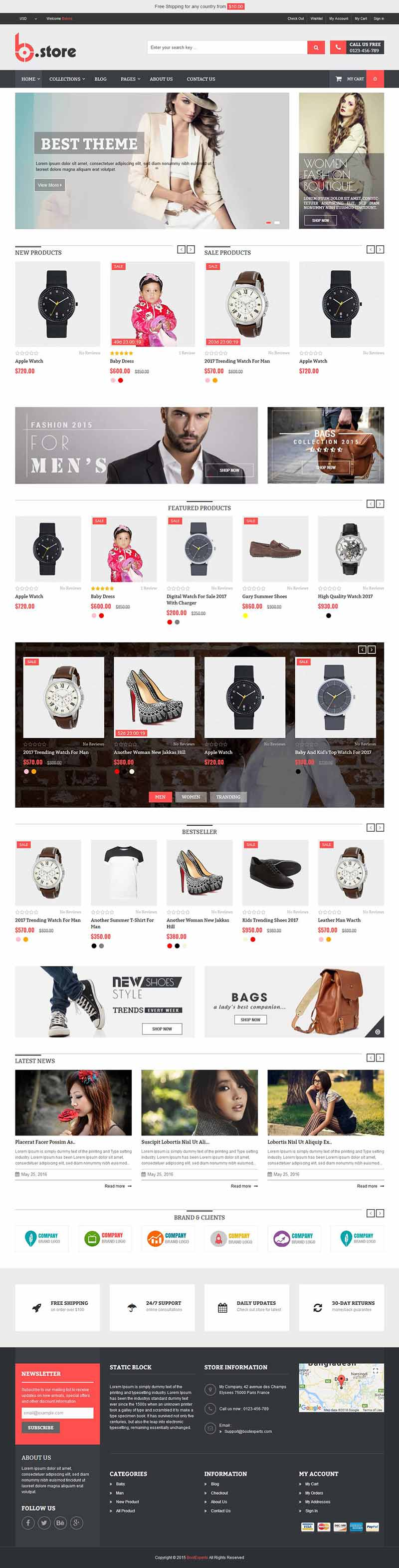 BStore - Responsive eCommerce Shopify Theme