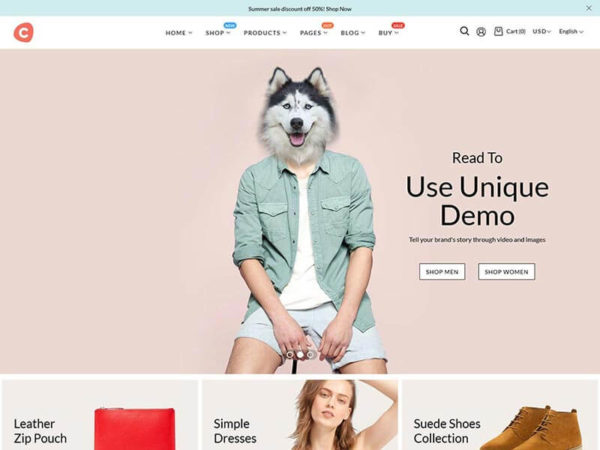 Ciao - Multipurpose Shopify Theme thumbnail