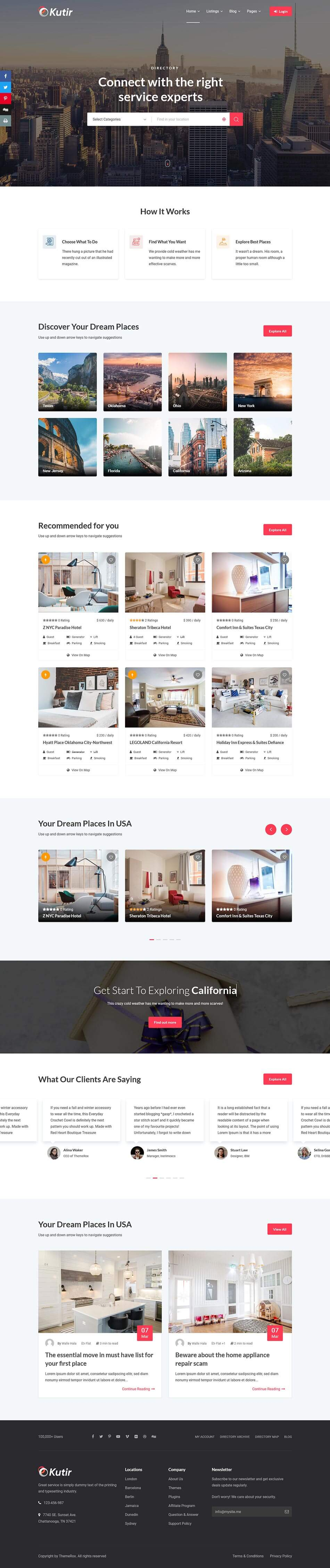 Kutir-Directory-Listing-WordPress-Theme