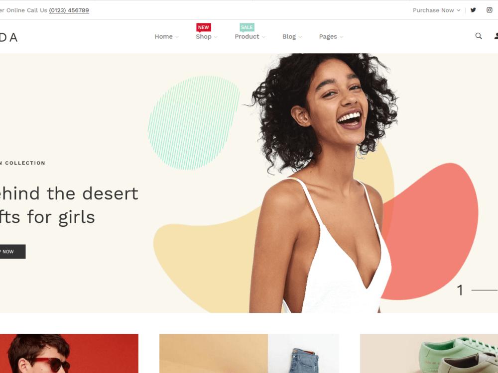 Lezada - Multipurpose Shopify Theme thambnail