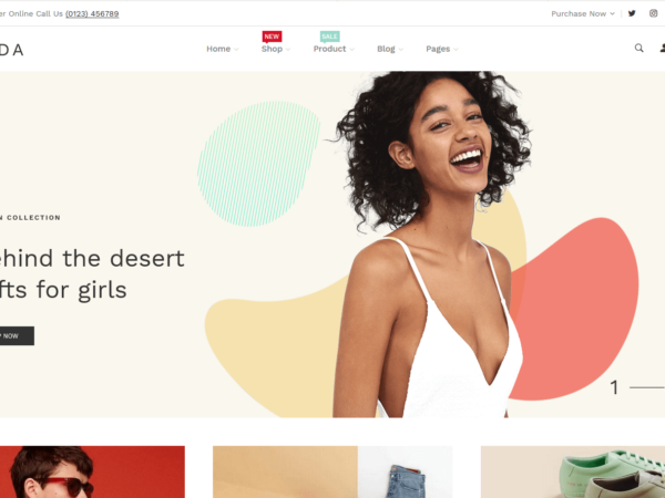 Lezada - Multipurpose Shopify Theme thambnail