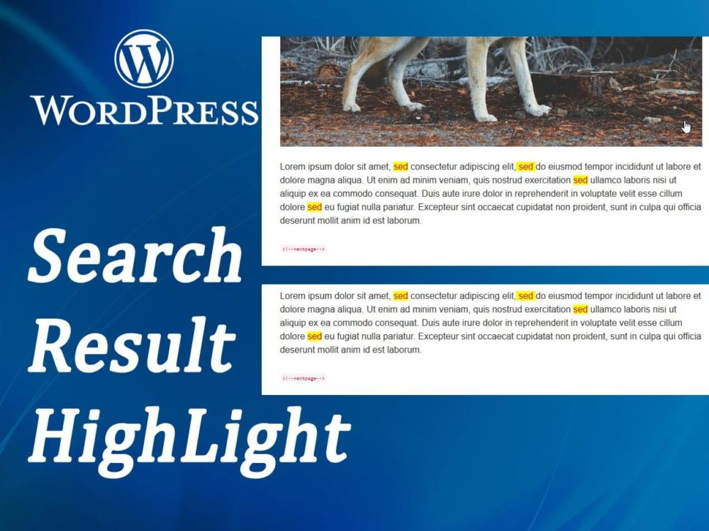 How to Highlight Search Results in WordPress